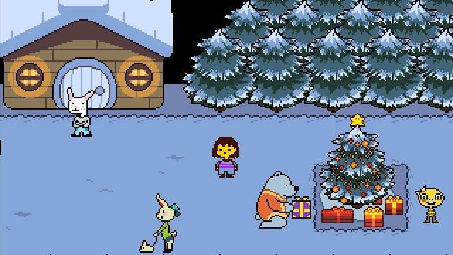 Imagem do game Undertale PC