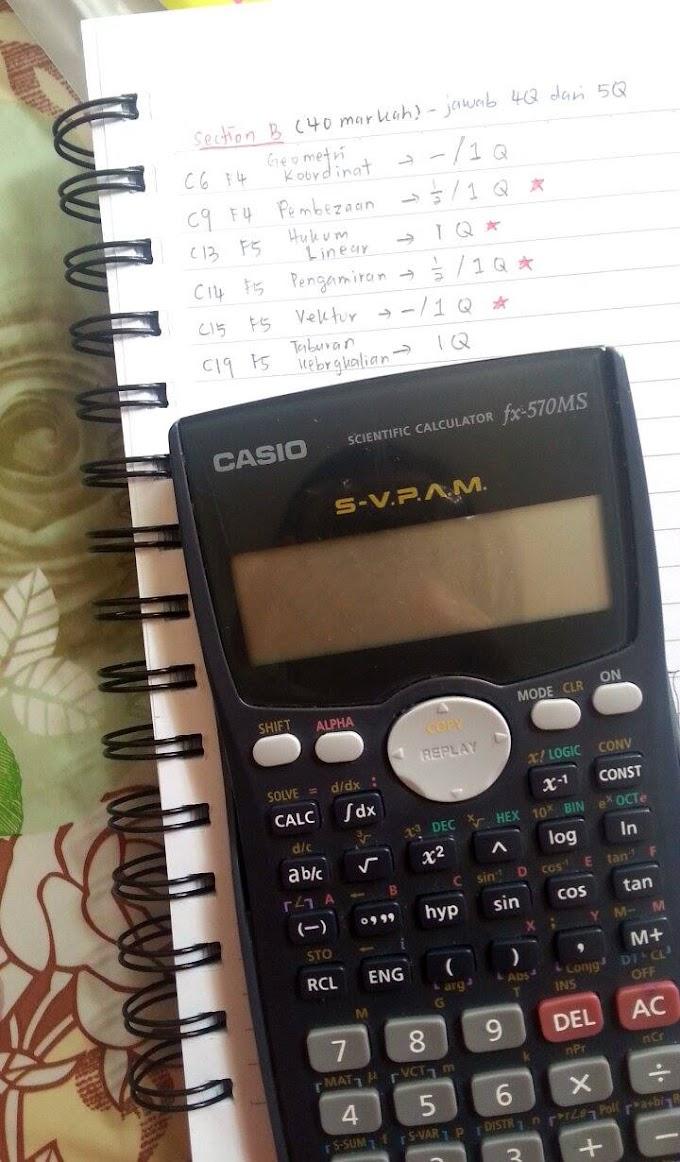 Analisis & Tips Skor Markah Kertas SPM Matematik Tambahan (Addmath)