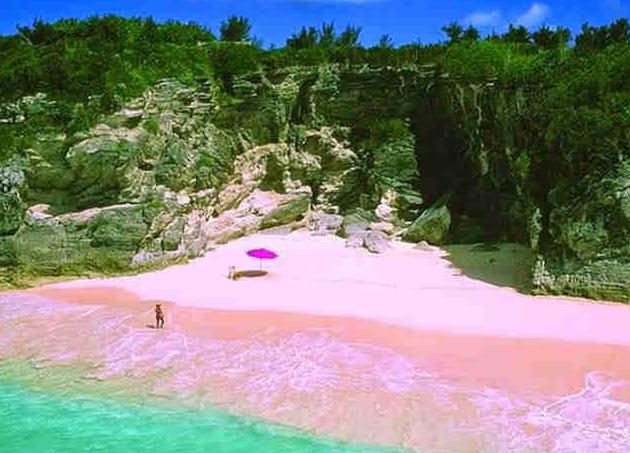 Gambar Pantai Tiga Warna