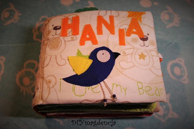 Książeczka sensoryczna Hania