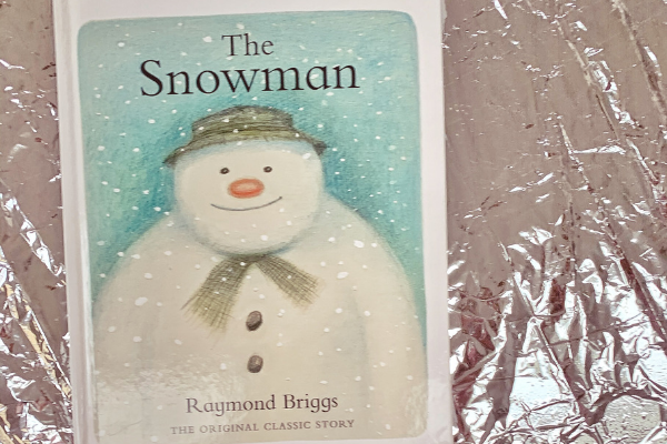 The Snowman book by Raymond Briggs