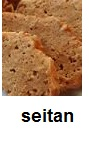 Le seitan nutriment riche