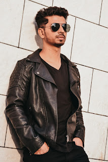 Winter fashion Mensgymfitness - Leather jacket
