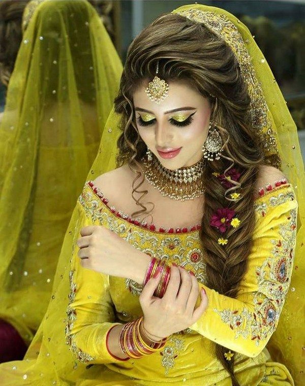 Amazing Beautiul Bridal Hairstyles Special For Girls