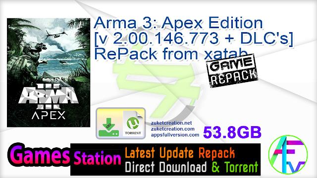 Arma 3 Apex Edition [v 2.00.146.773 + DLC's] RePack from xatab