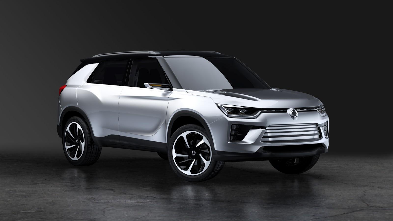 SIV 2%2Bfront Η SSANGYONG παρουσιάζει ένα μεσαίο πολυχρηστικό SUV