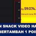 Cara Mengatasi Koin Snack Video +1 -  Aplikasi Penghasil Uang Tercepat