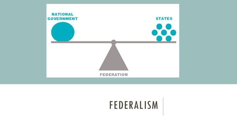 dual federalism Dual federalism, also known as layer cake federalism involves clearly enumerated powers between the national and state governments, and sovereignty in equal spheres this relationship predominated from the 1790s to 1930.