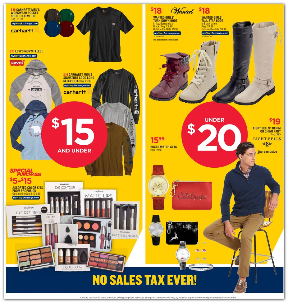 Navy Exchange Black Friday 2019 page 59