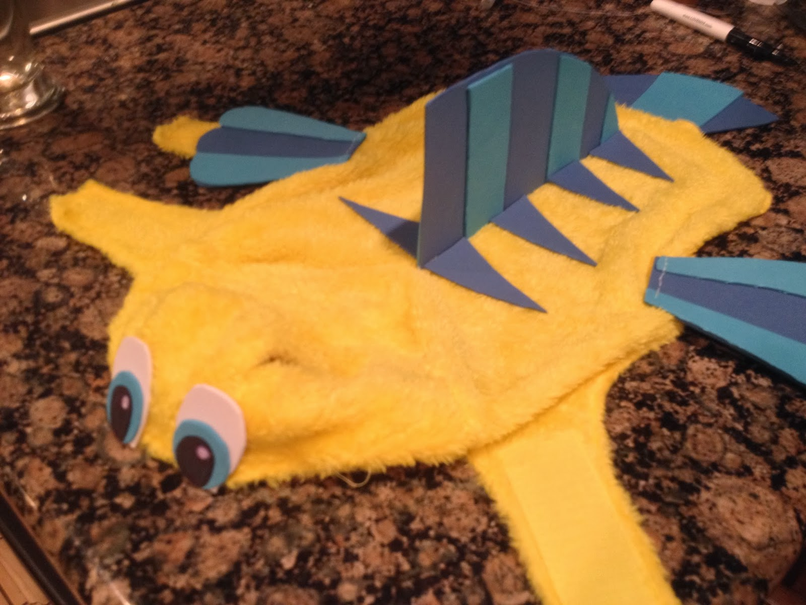 Special Delivery by Jackie: Flounder Dog Costume