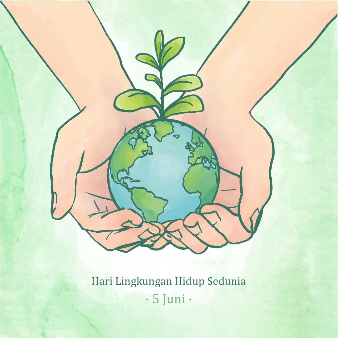 Gambar Ucapan Selamat Hari Lingkungan Hidup Sedunia 2021