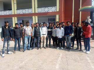 नवयुवक सेना ने भरी छात्र संघ चुनाव की हुँकार:- अनिकेत रंजन