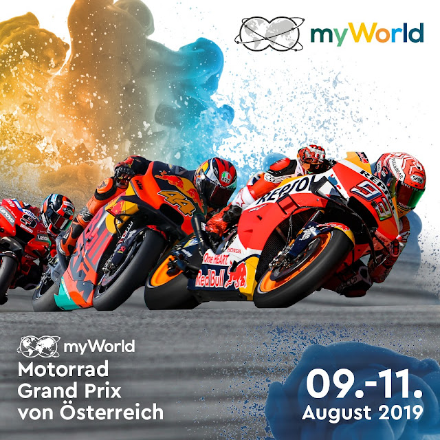 myWorld Motorrad Grand Prix von Österreich 2019