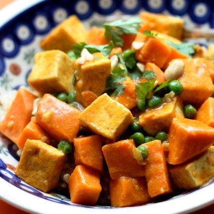 Sweet Potato Curry with Tofu