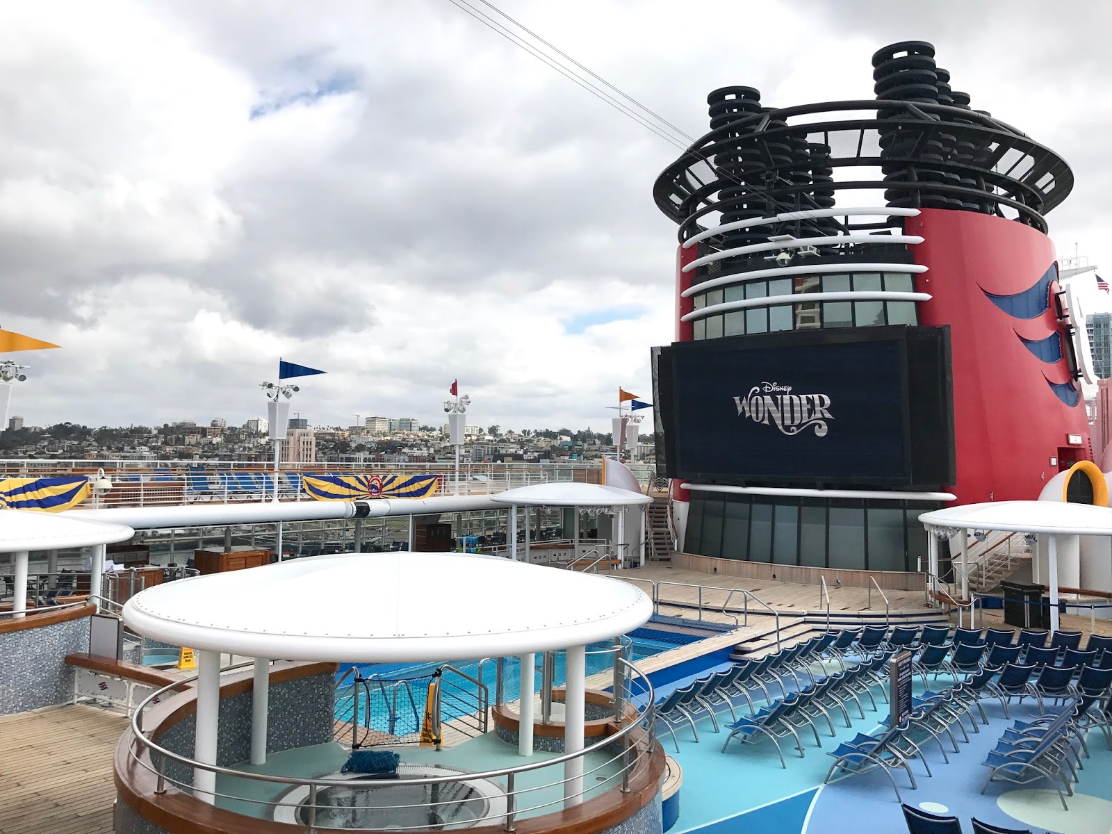 Disney Wonder Pool, Disney Wonder Activities