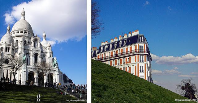Basílica de Sacre Coeur, Montmartre, Paris