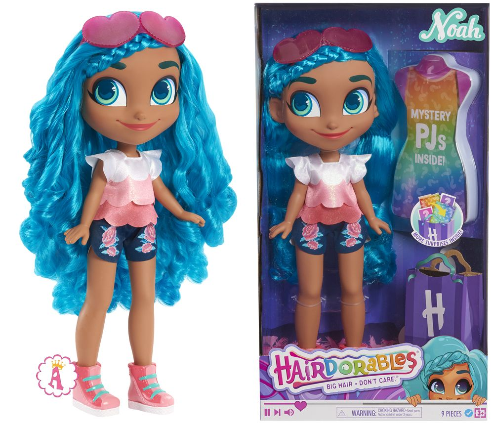 Большая кукла Ноа Hairdorables Mystery Doll 18 inch Noah
