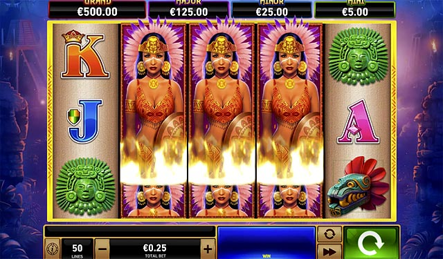 Ulasan Slot Playtech Indonesia - Sky Queen Fire Blaze Jackpots Slot Online