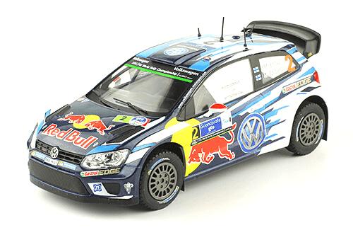 WRC collection 1:24 salvat españa, Volkswagen Polo WRC 1:24, Jari-Matti Latvala, México 2016