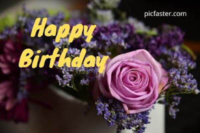 New Happy Birthday Flowers Images Free Download
