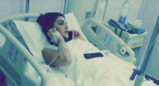 صور بنت مريضة تبكي , صور بنت بالمستشفى مريضة