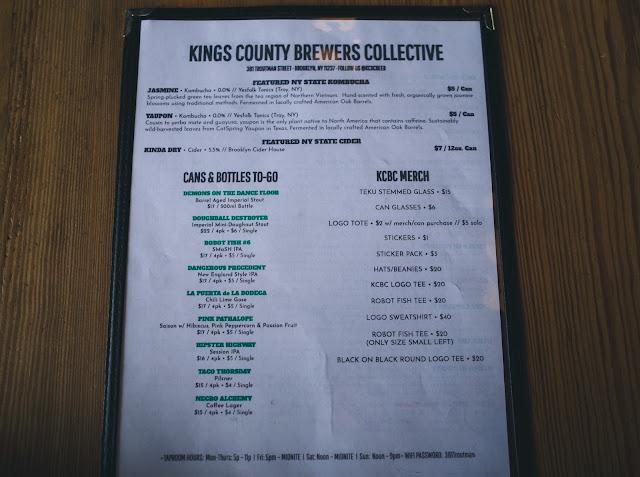 キングス・カウンティー・ブルワーズ・コレクティブ(Kings County Brewers Collective)