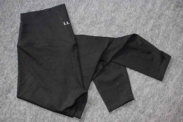 pair of black leggings from Love Leggings