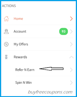 navigate-freecharge-refer-and-earn-tab