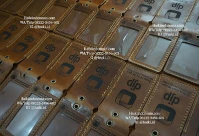 Jual Souvenir Tempat Id Card Kulit Pekanbaru magnet