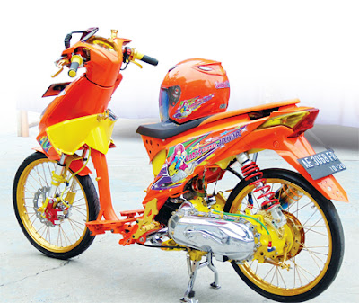 Modifikasi Honda Beat Thailook