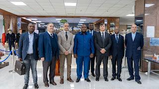 Il Ministro dei Trasporti della Rep. Dem. del Congo visita l'Accademia IMAT