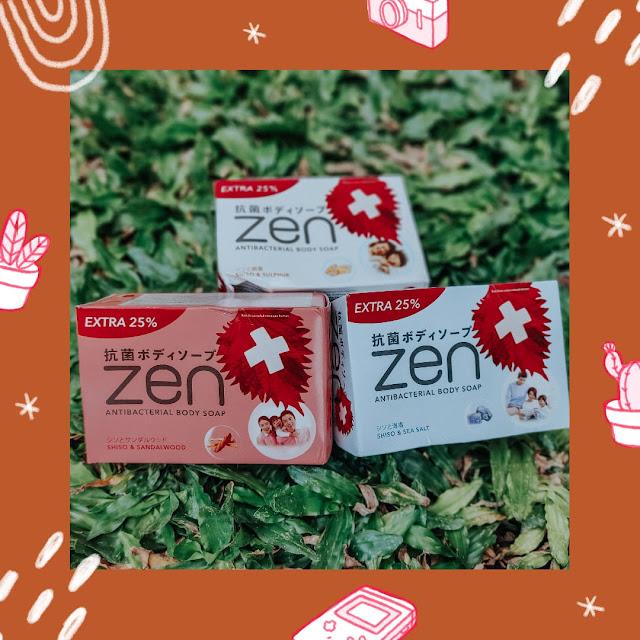 sabun batang ZEN