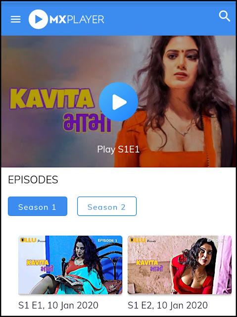 Download Kavita Bhabhi Season 2 free ullu web series