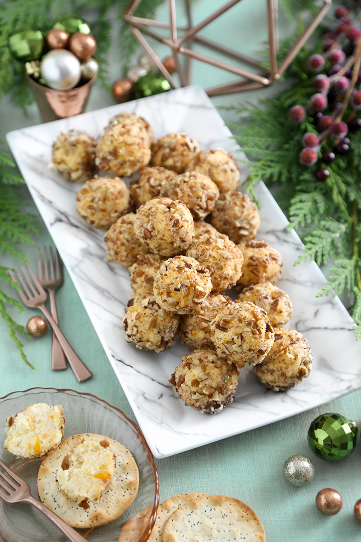 Cheese and Apricot Truffles