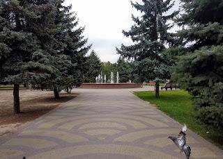 Мелітополь. Парк ім. Горького. Алея