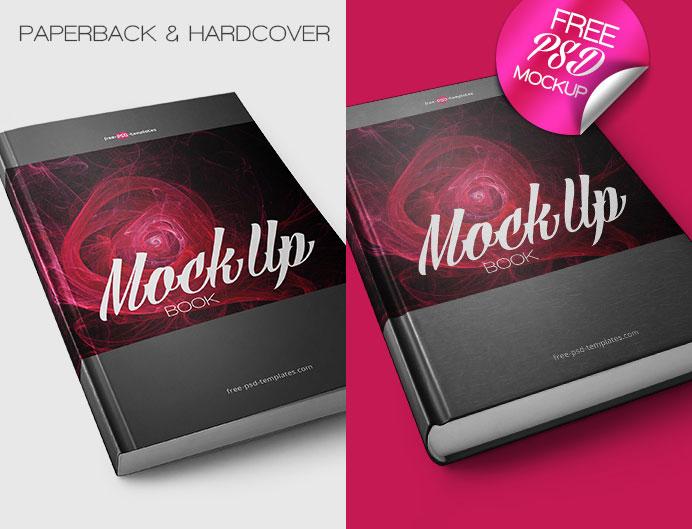 Book Mock-up PSD