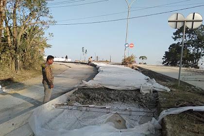 Proyek Betonisasi Jalan Rusa Sengkang Dipertanyakan Warga