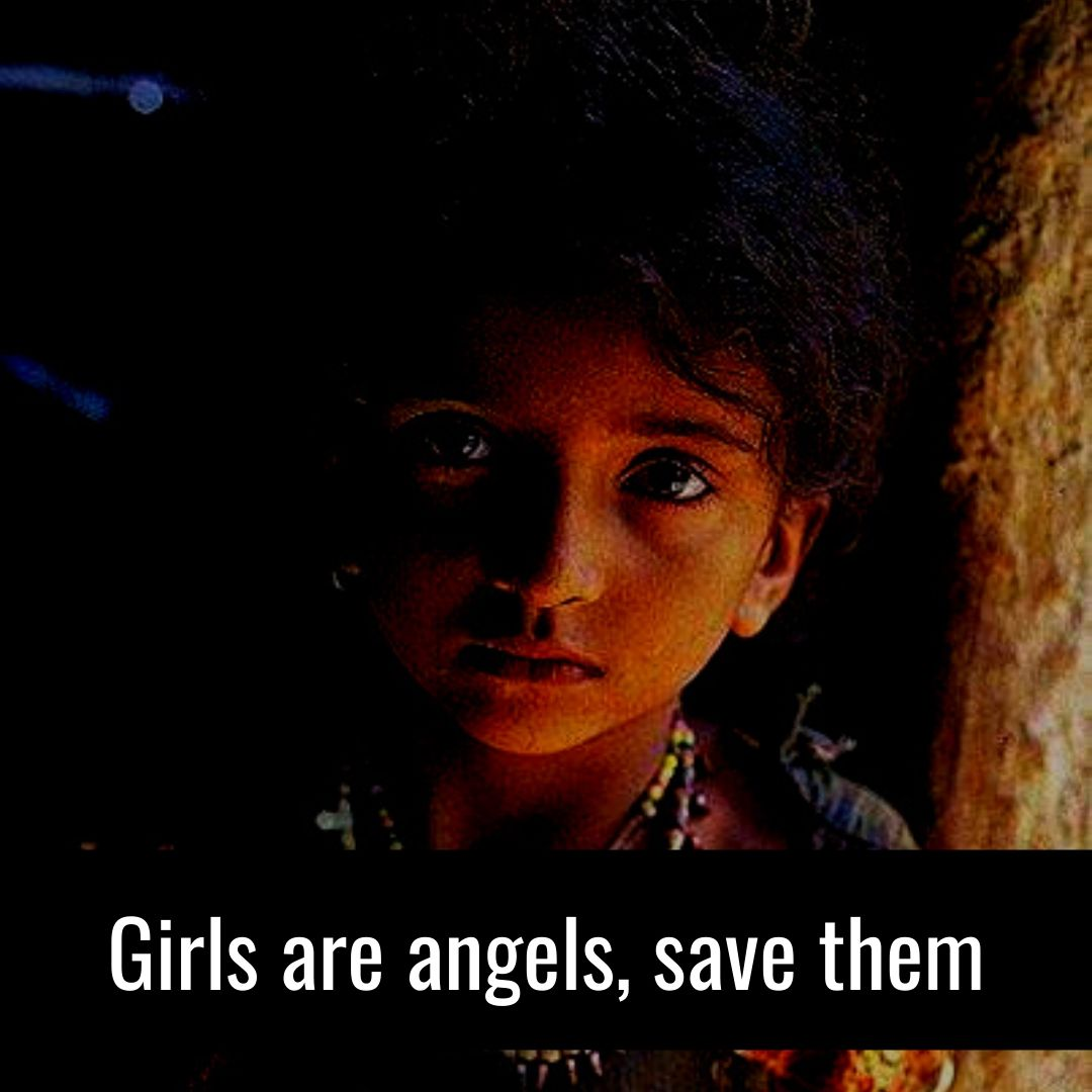 girls are angles save them
