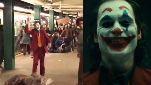 Se filtra nuevo video de Joaquín Phoenix como Joker con el traje completo.