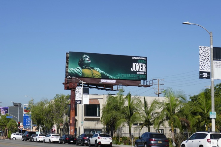 Joker film billboard