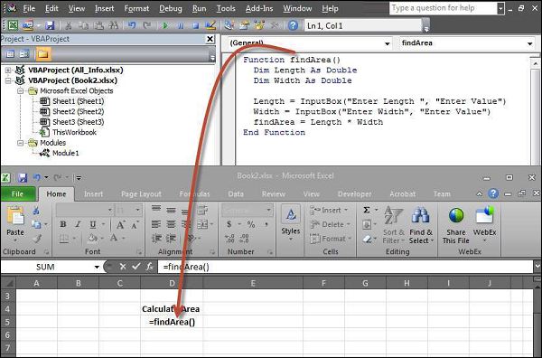 Step 1 − To execute the same, call using the function name and press Enter as shown in the following screenshot Shout For Education
