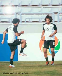 استبعاد عمرو وردة من المنتخب الوطني