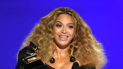 Beyonce Knowles Ukir Sejarah Grammy Awards