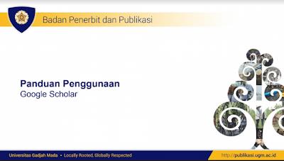 panduan google scholar UGM