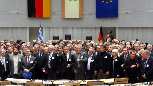 Ετοιμάζουν διαδήλωση στο Ναύπλιο ενάντια στην «ελληνο-γερμανική συνέλευση»