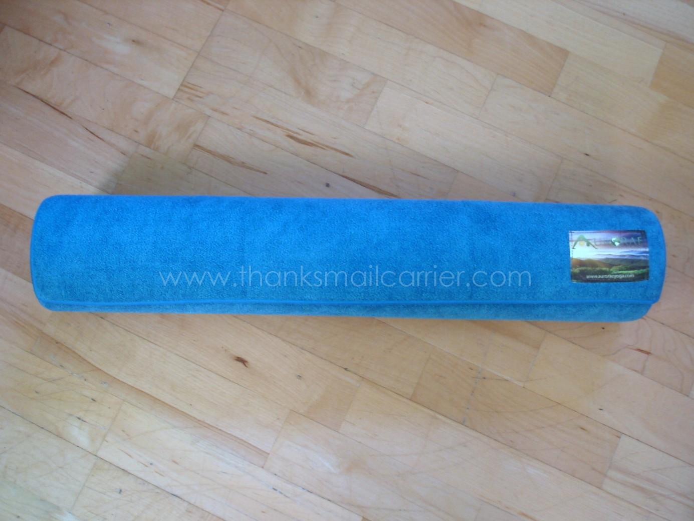Thanks Mail Carrier Aurorae Yoga Synergy Yoga Mat Towel
