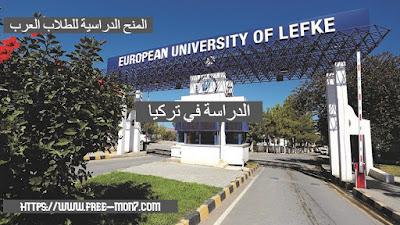 منحة لدراسة البكالوريوس في تركيا بالجامعة الأوروبية ليفكي