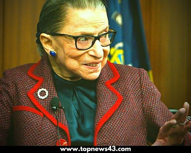 Associate Justice of the Supreme Court of the United States Ruth Bader Ginsburg Is Dead