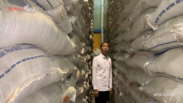 Jokowi: Pemerintah Sebetulnya Tak Suka yang Namanya Impor Beras
