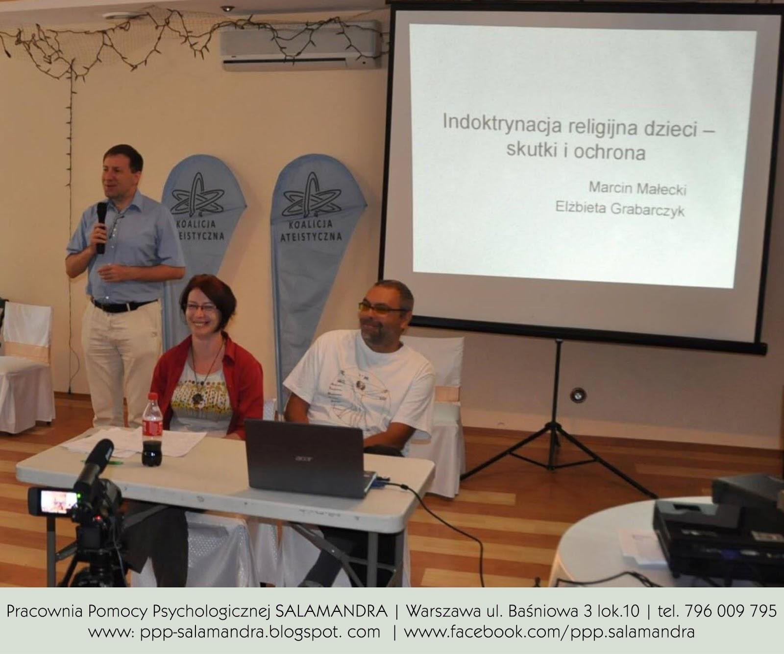 Dobry psycholog Warszawa o indoktrynacji religijnej